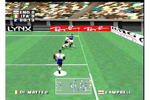 Screens: Three Lions - PlayStation (2 of 10)