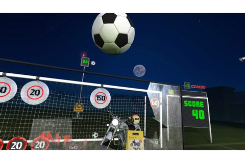 Virtual reality soccer games allow fans to play without ...