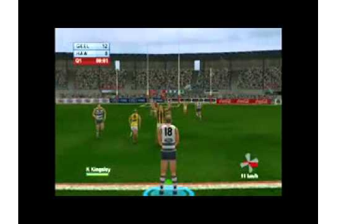 Game 55 - AFL Live 2004 - YouTube