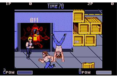 Double Dragon II: The Revenge Download (1989 Arcade action ...