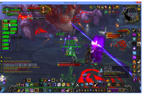 Live World of Warcraft game screen shows progress to defeating the ...