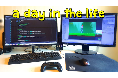 A Day in the Life of an Indie Game Developer & Student ...