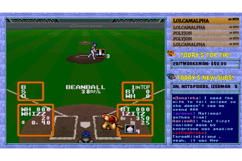 "Super Baseball Simulator 1.000 ""Tip game"" tournament #5 ..."