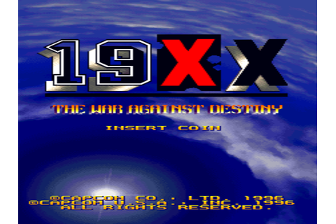 19XX: The War Against Destiny (Japan 951207) ROM