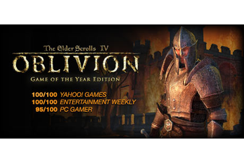The Elder Scrolls IV: Oblivion® Game of the Year Edition ...