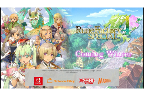 Rune Factory 4 Special - Announcement Trailer [NINTENDO ...