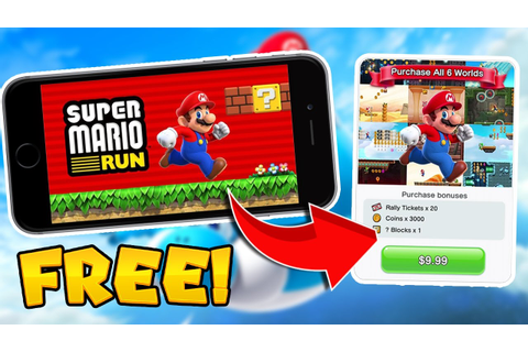 How to Get SUPER MARIO RUN FOR FREE! (FULL GAME) - UNLOCK ...
