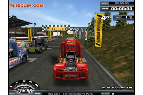 Play Super Trucks Car Free Online Games - YouTube