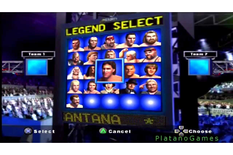 Best Wrestling Roster Ever! Showdown Legends of Wrestling ...