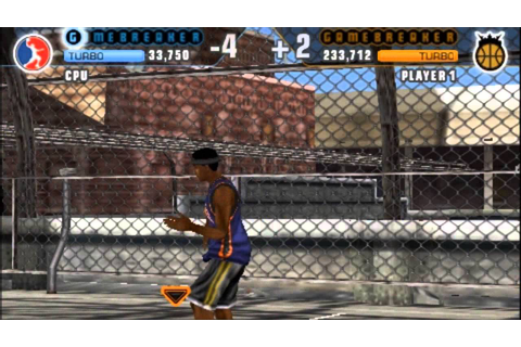 NBA Street Showdown (PSP) gameplay - YouTube