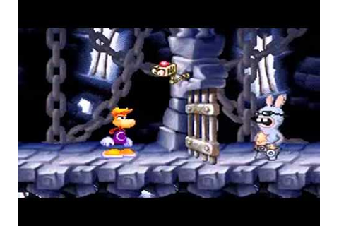 Rayman contre les Lapins Crétins sur GameBoy Advance - YouTube