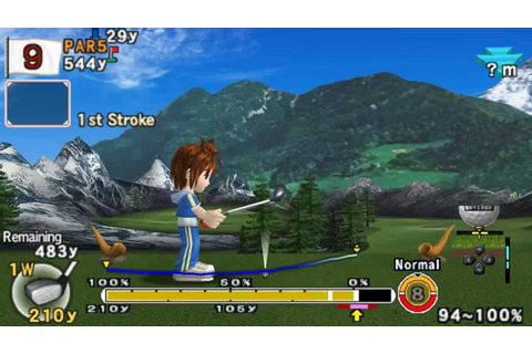 Hot Shots Golf: Open Tee 2 APK + ISO PSP Download For Free