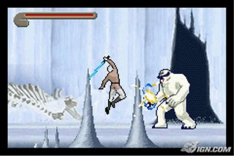 Star Wars Trilogy: Apprentice of the Force - Game Boy ...