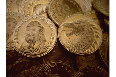 "Game of Thrones Westeros ""Golden Dragon"" coins by Shire ..."