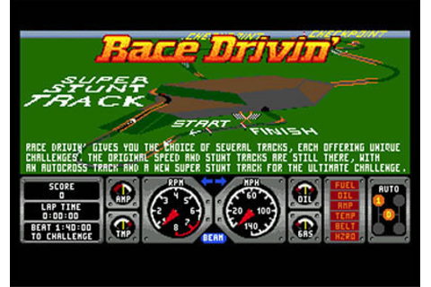 Race Drivin' Review for Genesis (1993) - Defunct Games