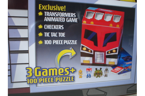 New Wal Mart Exclusive Transformers Animated Board Games ...