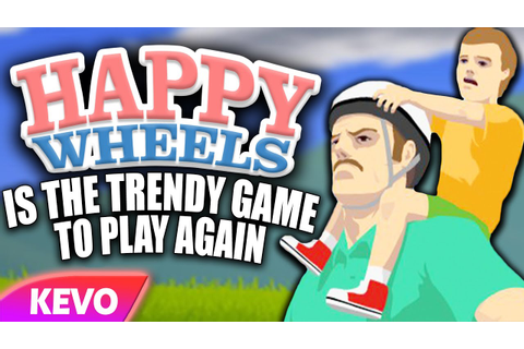 Happy Wheels is the trendy game to play again - YouTube