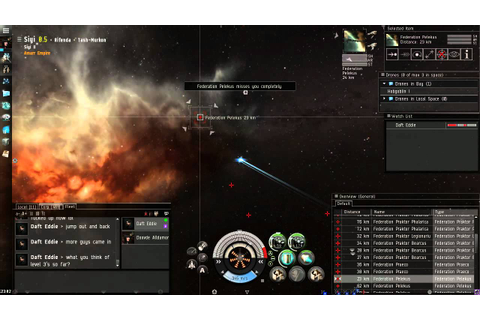 Eve Online Gameplay - YouTube