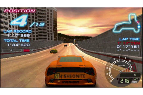 Ridge Racer PSP Gameplay HD - YouTube