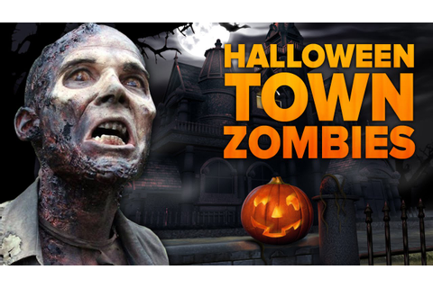 HALLOWEEN TOWN ZOMBIES ★ Call of Duty Zombies Mod (Zombie ...