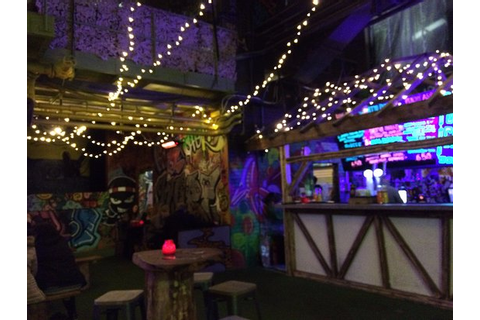 The bar. - Picture of Ghetto Golf, Liverpool - TripAdvisor