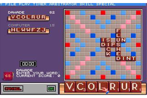 Scrabble: Deluxe Edition Download (1990 Strategy Game)