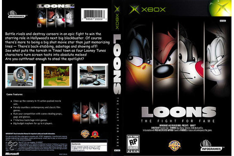 Loons The Fight for Fame Xbox Play as Your Favorite Looney ...