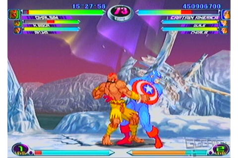 Review: Marvel vs. Capcom 2: New Age of Heroes on Dreamcast