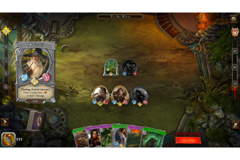 The Lord of the Rings: Adventure Card Game Hits PS4 August ...