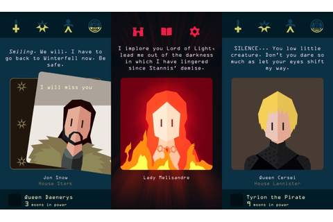 Reigns and Game of Thrones will mash up for upcoming spin ...