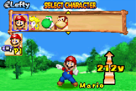 Mario golf advance: Tour - Symbian game. Mario golf ...