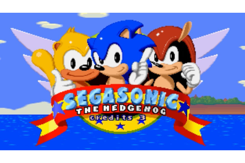 SEGASONIC the Hedgehog Arcade Longplay feat. Ray the ...