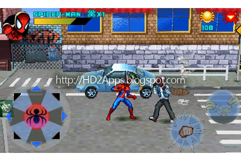 HD2 Apps: HTC HD2 Games: Spider-Man Toxic City v1.01