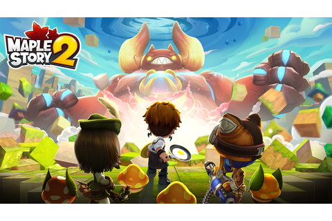 MapleStory 2 launches globally for PC | VentureBeat