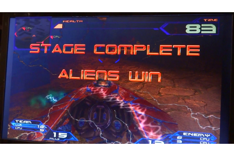 Alien Front: Sega Naomi Arcade (Actual Hardware) - YouTube