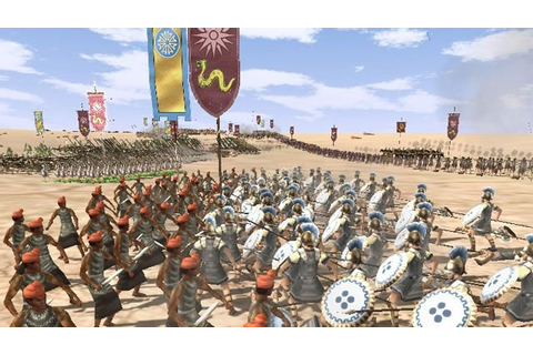 Rome: Total War - Alexander GAME MOD Indian Assault ...