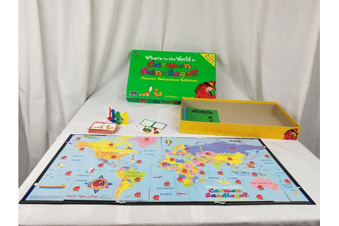 Where In The World Is Carmen Sandiego? Board Game Junior ...
