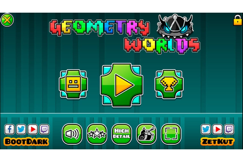 NEW GEOMETRY DASH GAME - GEOMETRY DASH WORLD 2 - YouTube