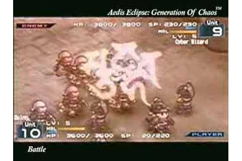 Aedis Eclipse: Generation of Chaos - YouTube