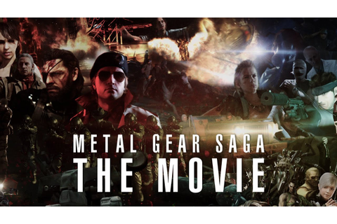 Metal Gear SAGA - THE MOVIE (All games in 12 hours) - YouTube