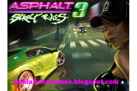Asphalt 3 Srtreer Rules 240x400 java game Download for ...