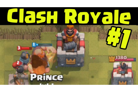 Clash Royale - NEW GAME BY SUPERCELL Walkthrough Let's ...