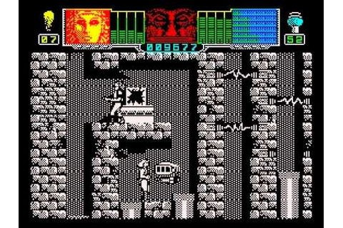 Hammerfist Walkthrough, ZX Spectrum - YouTube