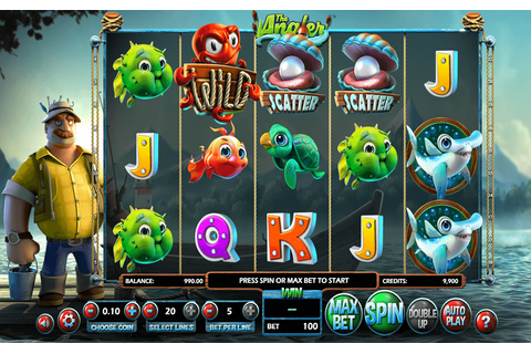 The Angler Slot Machine UK - Play FREE BetSoft Slots Online