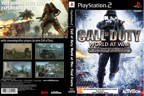 Call Of Duty World At War Final Fronts Jogo Ps2 Patch ...