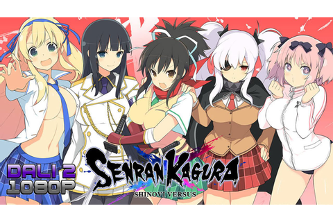 Senran Kagura Shinovi Versus PC Gameplay 60fps 1080p - YouTube