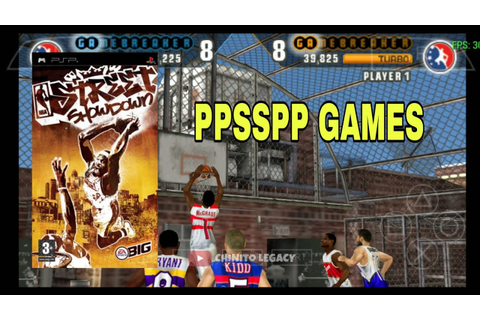 NBA STREET SHOWDOWN (1.18 Gb) - PPSSPP GAMES for PC and ...