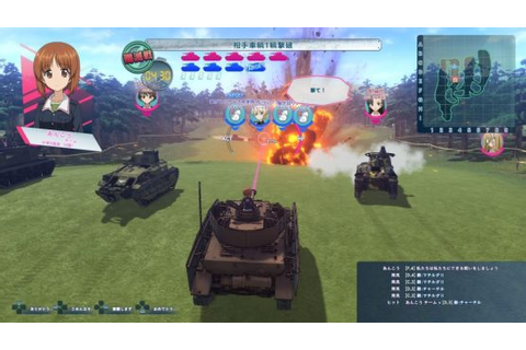 Relive the Girls und Panzer Movie Battles With This Game