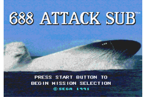 Download 688 Attack Sub - My Abandonware