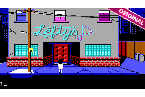 Leisure Suit Larry 1 - In the Land of the Lounge Lizards ...